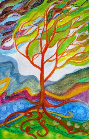 Windy tree modern