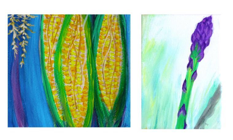 website. corn and asparagus